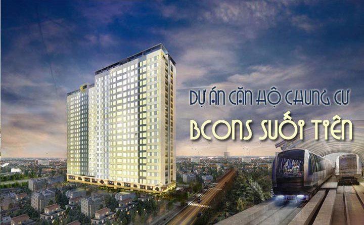 Dự án căn hộ Bcons Suối Tiên Dĩ An chung cư giá rẻ