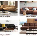 Địa chỉ mua sofa da HCM chất lượng nhập khẩu, sản xuất theo yêu cầu