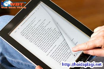 Sách điện tử có gì khác với sách thông thường