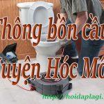 Thông bồn cầu Huyện Hóc Môn giá rẻ, uy tín chuyên nghiệp 0973361201