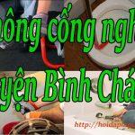 Thông cống nghẹt tại huyện Bình Chánh giá rẻ, phục vụ 24/24h- hoidaplagi