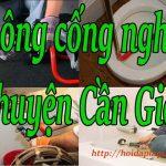 Thông cống nghẹt tại huyện Cần Giờ giá rẻ, máy lò xo tại Bách Thắng hdlg