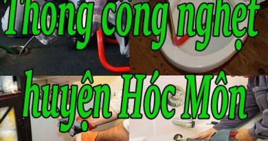 Thông cống nghẹt huyện Hóc Môn