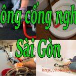 Thông cống nghẹt tại Sài Gòn giá rẻ chỉ # 129 k  tại Bách Thắng hoidaplagi