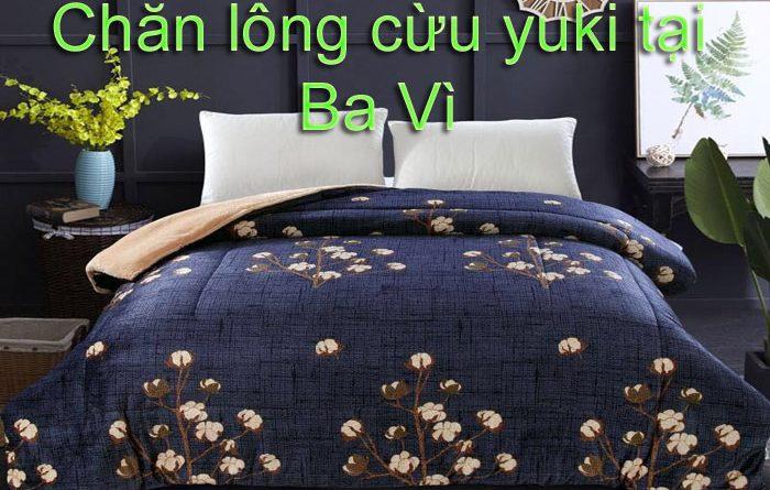 Chăn lông cừu yuki tại ba vì