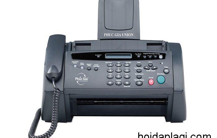 Fax là gì