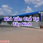 Nhà Tiền Chế Tại Tây Ninh Bền Bỉ Chuyên Nghiệp Hoidaplagi BT