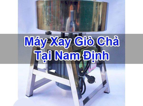 Máy Xay Giò Chả Tại Nam Định