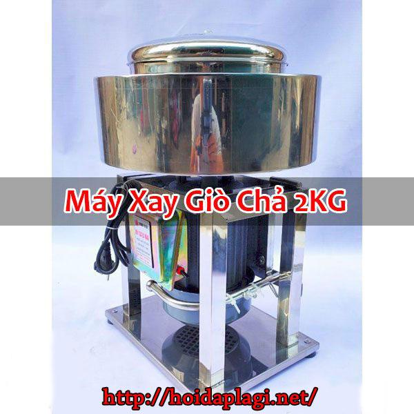 Máy Xay Giò Chả 2KG