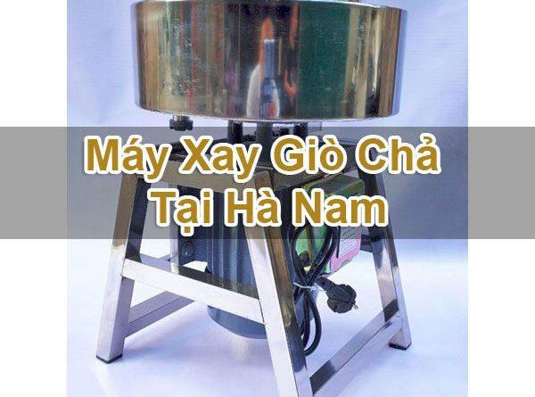 Máy Xay Giò Chả Tại Hà Nam