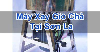 Máy Xay Giò Chả Tại Sơn La