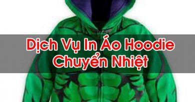 In Áo Hoodie Chuyển Nhiệt