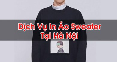 In Áo Sweater Tại Hà Nội