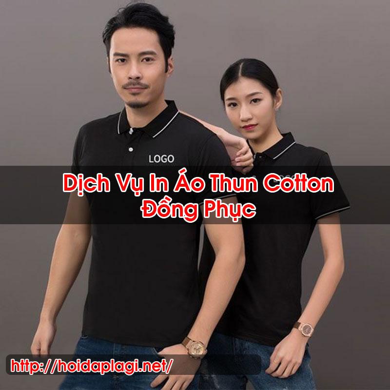 In Áo Thun Cotton Đồng Phục